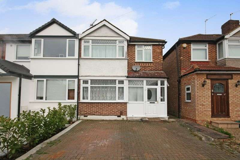 3 Bedrooms Terraced House for sale in Jubilee Road, Greenford