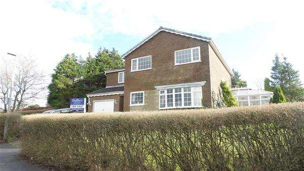 4 Bedrooms Detached House for sale in Winnipeg Close, Blackburn