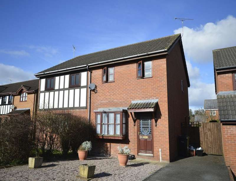 3 Bedrooms Semi Detached House for sale in Ashlands Road, Weston Rhyn, Oswestry, SY10