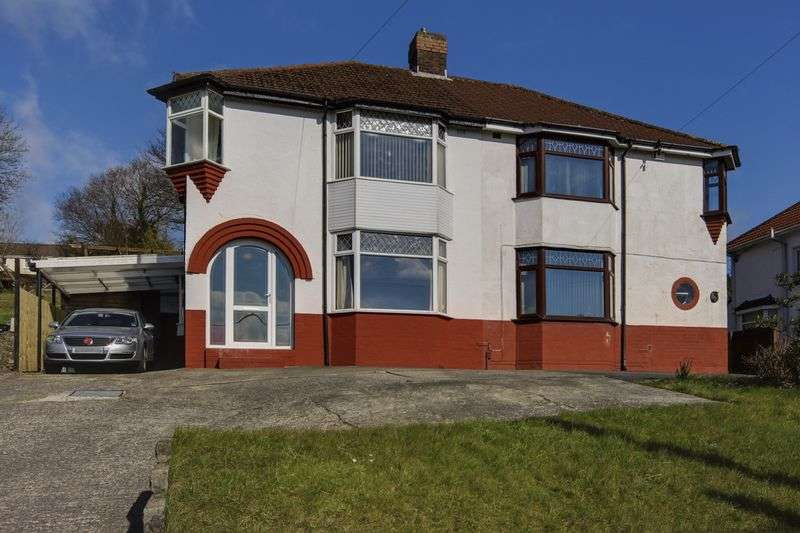 3 Bedrooms Semi Detached House for sale in Cefn Road, Newport