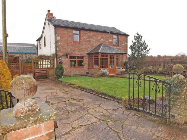 3 Bedrooms Detached House for sale in The Stripes, Cumwhinton, Carlisle, Cumbria