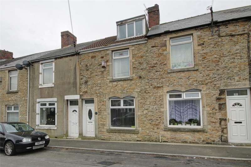 4 Bedrooms Terraced House for sale in Roseberry Terrace, Consett, County Durham, DH8