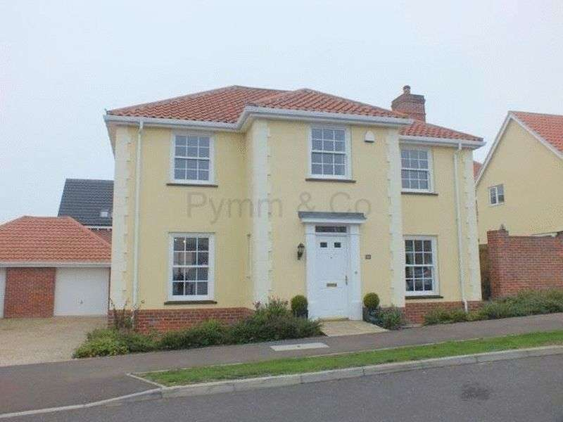 4 Bedrooms House for sale in Vanguard Chase, Costessey