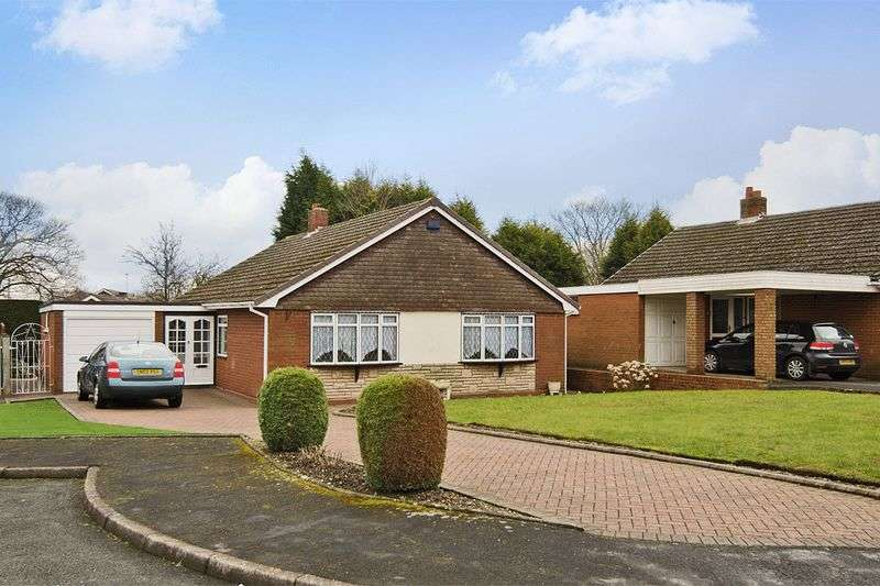 3 Bedrooms Detached Bungalow for sale in Strathmore Place, Cannock