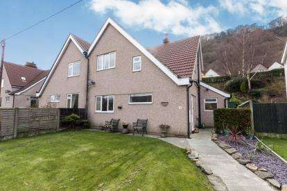 3 Bedrooms Semi Detached House for sale in Gwydyr Road, Dolgarrog, Conwy, LL32