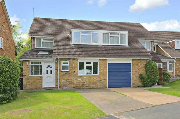 4 Bedrooms Semi Detached House for sale in Woodfield Road, Radlett, Hertfordshire