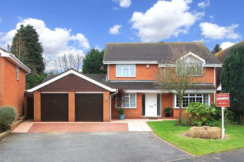 4 Bedrooms Detached House for sale in WHEATON ASTON, Meadowcroft Gardens