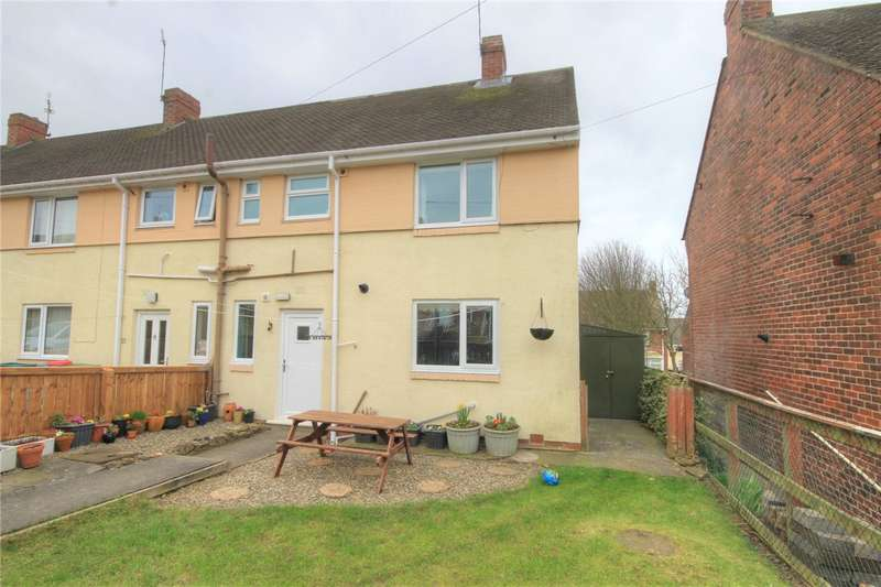 2 Bedrooms End Of Terrace House for sale in Cleveland Terrace, South Stanley, County Durham, DH9