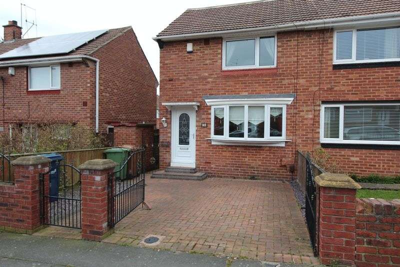 2 Bedrooms Semi Detached House for sale in Hawkesley Road Nookside, Sunderland