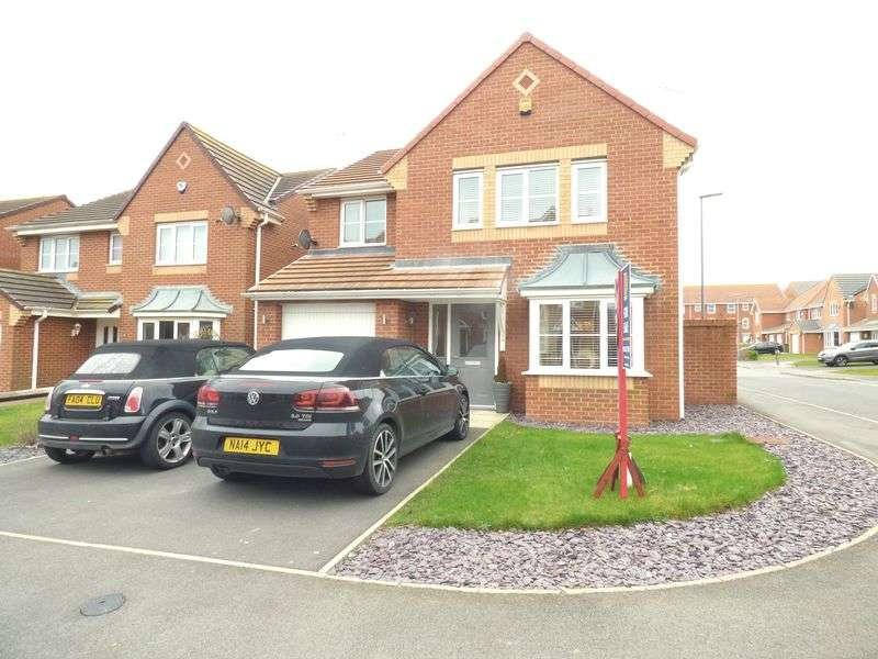 4 Bedrooms Detached House for sale in Grenaby Way, Murton, Seaham