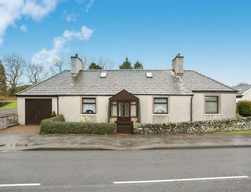 2 Bedrooms Detached Bungalow for sale in Moor Cottage, Springholm, Castle Douglas, DG7