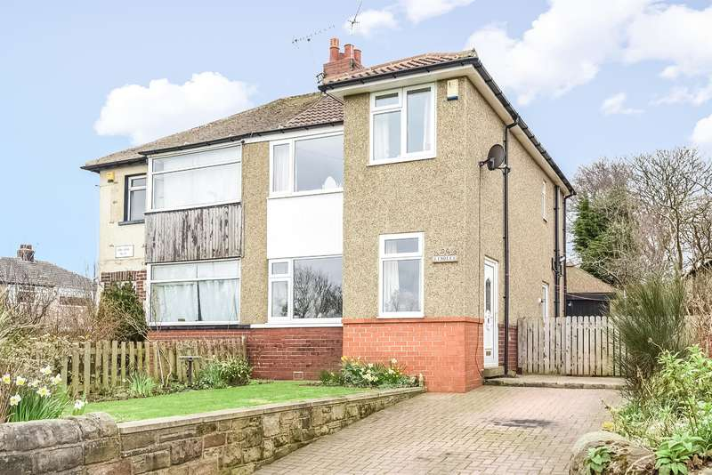 3 Bedrooms Semi Detached House for sale in Apperley Lane, Rawdon, Leeds, LS19 6BY