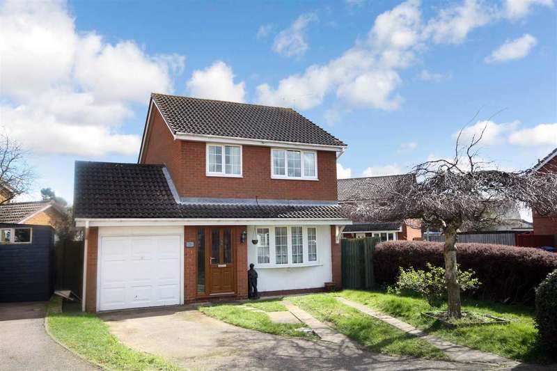 3 Bedrooms Detached House for sale in Ganges Road, Shotley Gate