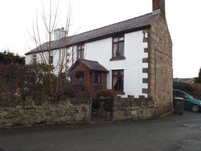 2 Bedrooms End Of Terrace House for sale in Heol Llewelyn, Coedpoeth, Wrexham, Wrecsam, LL11