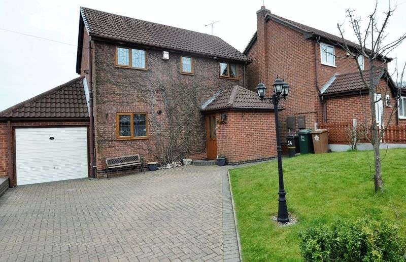 3 Bedrooms Detached House for sale in Chiltern Road, Swadlincote