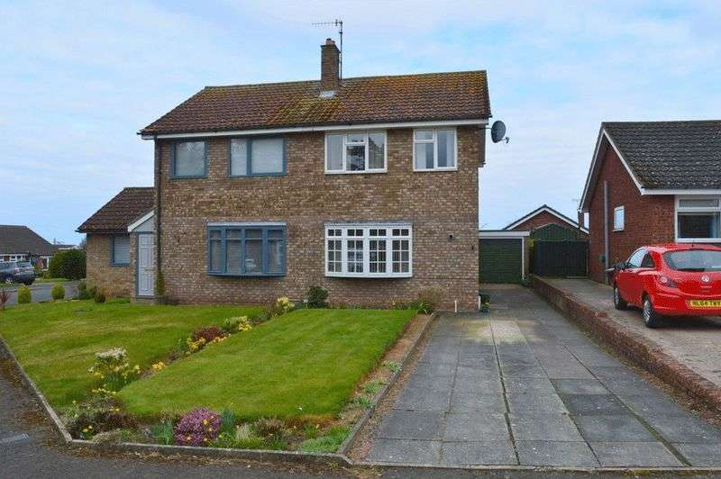 3 Bedrooms Semi Detached House for sale in Cornwall Avenue, Berwick-Upon-Tweed