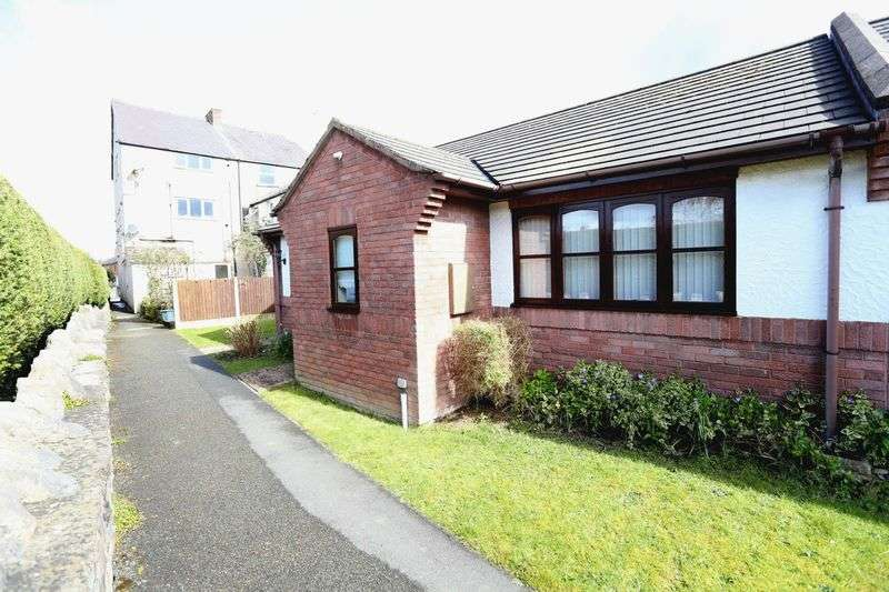 2 Bedrooms Semi Detached Bungalow for sale in Llys Y Castell, Ruthin