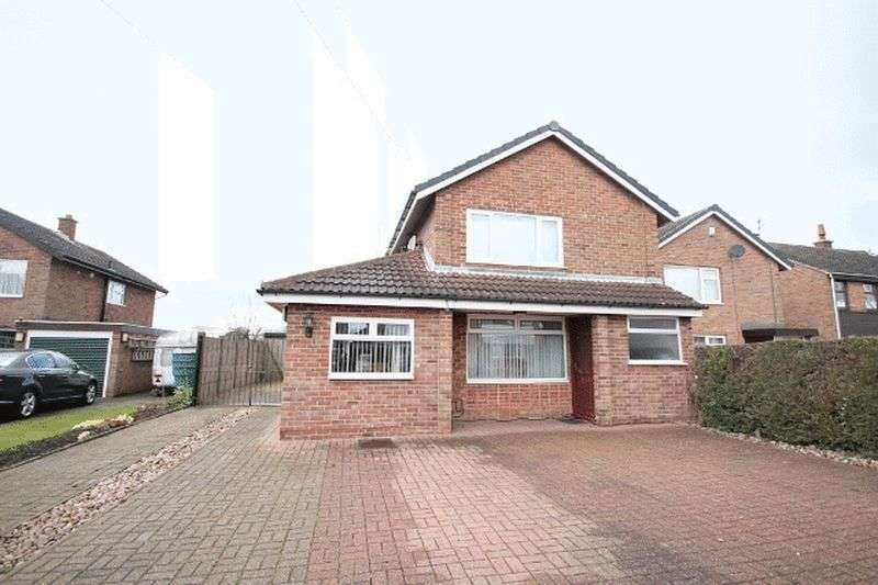 4 Bedrooms Detached House for sale in Denstone Drive, Derby