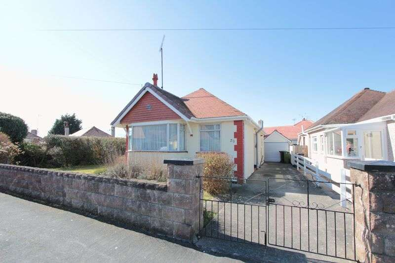 3 Bedrooms Detached Bungalow for sale in Gordon Avenue, Prestatyn