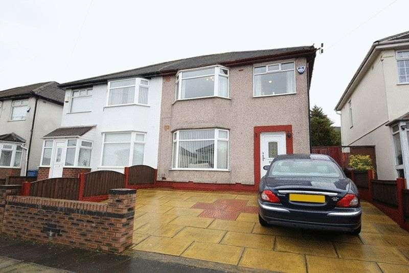 3 Bedrooms Semi Detached House for sale in Rudston Road, Childwall, Liverpool, L16
