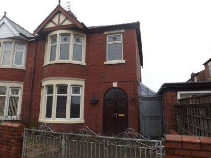 3 Bedrooms Semi Detached House for sale in Grasmere Road, Blackpool, Lancashire, FY1