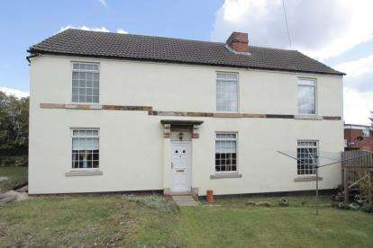 3 Bedrooms Detached House for sale in High Street, New Whittington, Chesterfield, Derbyshire