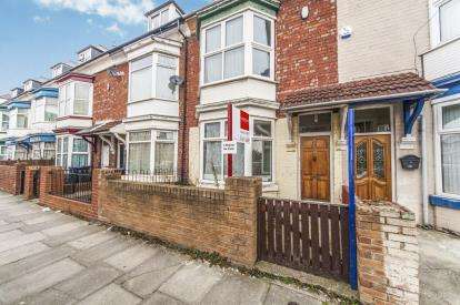4 Bedrooms Terraced House for sale in Kensington Road, Middlesbrough, North Yorkshire, Linthorpe