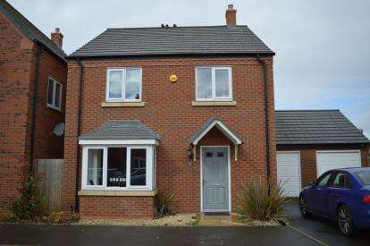 4 Bedrooms Detached House for sale in St. Chads Close, Hawksyard, Armitage, Staffordshire