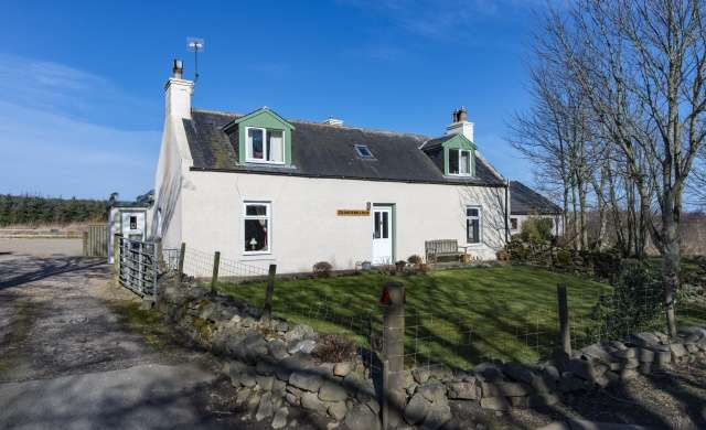 3 Bedrooms Cottage House for sale in Alvah, Banff, Aberdeenshire, AB45 3DA