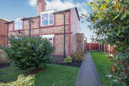 2 Bedrooms Semi Detached House for sale in Bishops Gardens, Ellesmere Port, Cheshire, ., CH65