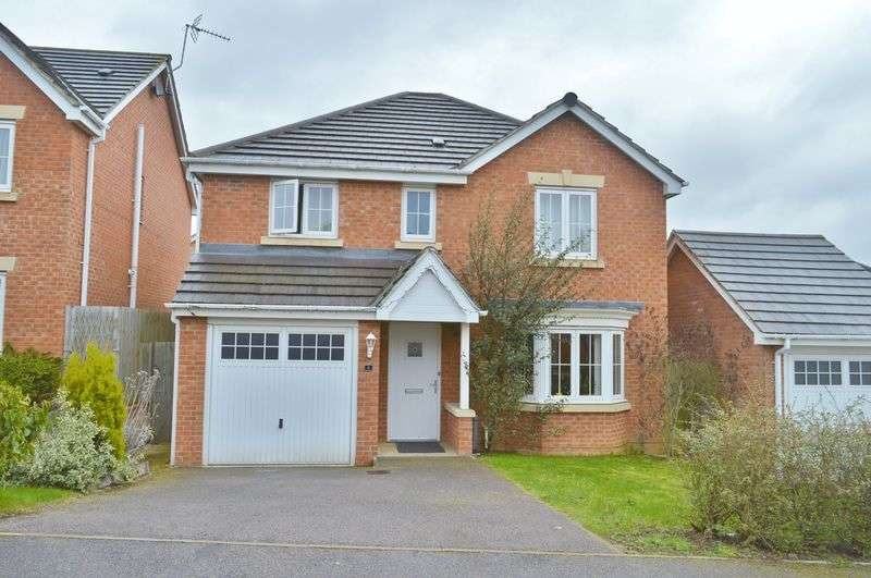 4 Bedrooms Detached House for sale in Huntingdon Close, Oakley Vale, Corby