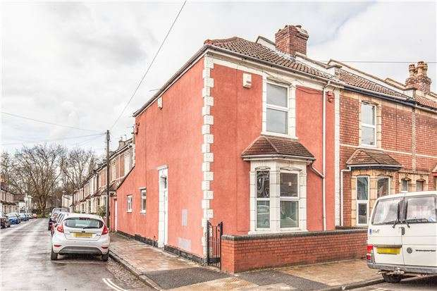 2 Bedrooms End Of Terrace House for sale in Mogg Street, St Werburghs, Bristol, BS2 9UB