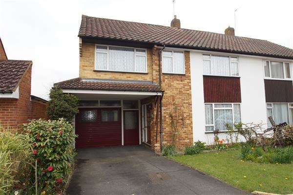 4 Bedrooms Semi Detached House for sale in Southfield Gardens, Burnham