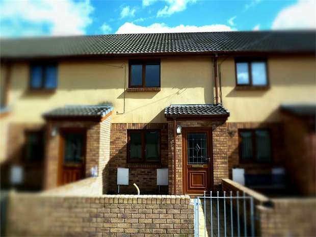 2 Bedrooms Terraced House for sale in Bramble Close, Caerau, Maesteg, Mid Glamorgan