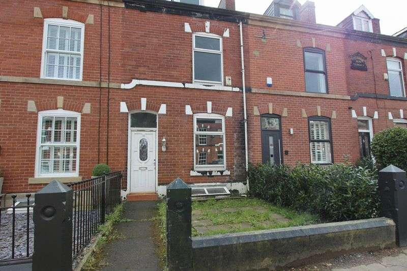 3 Bedrooms Terraced House for sale in Wilton Street, Whitefield, Manchester