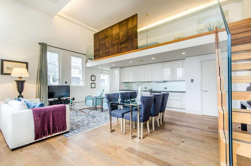 2 Bedrooms Flat for sale in Market Place, Marylebone, W1W