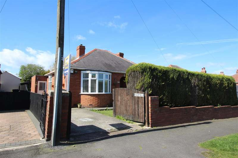 2 Bedrooms Bungalow for sale in 'Hughfield', Burradon Road, Annitsford
