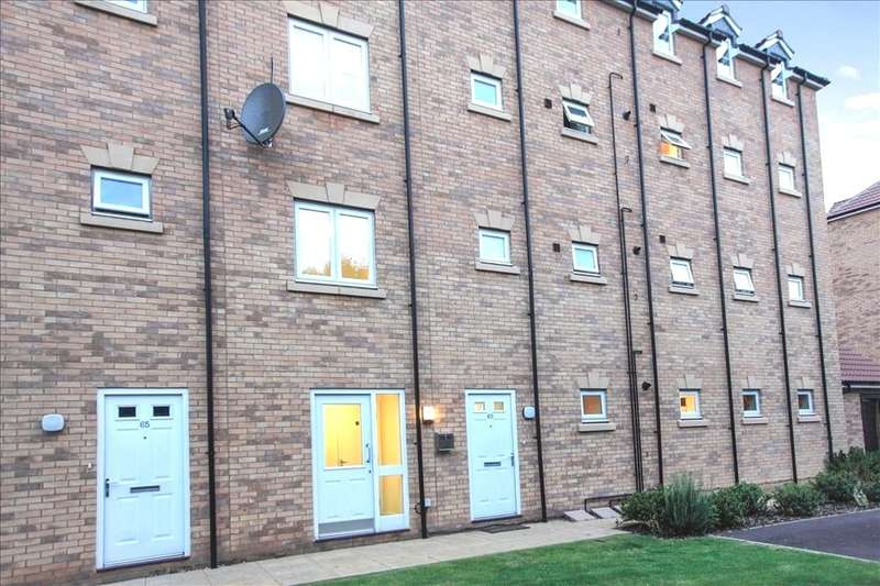 2 Bedrooms Apartment Flat for sale in Emperor Way, Fletton, Peterborough, Cambs