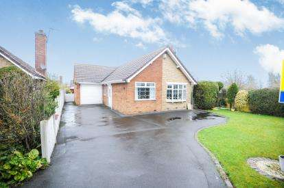 2 Bedrooms Bungalow for sale in Chatsworth Drive, Mansfield, Nottinghamshire
