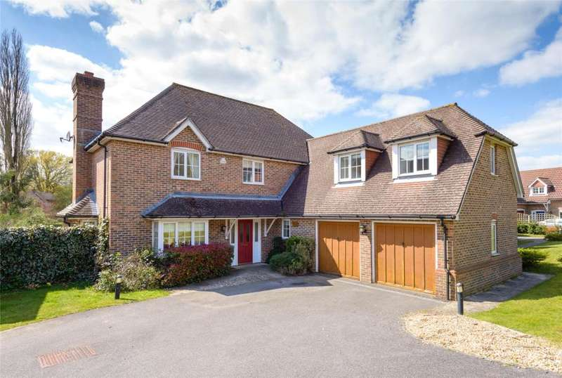 5 Bedrooms Detached House for sale in Brockhurst Farm, Watersfield, Pulborough, West Sussex, RH20