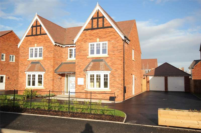 5 Bedrooms Detached House for sale in Green Lane, Bevere, Worcester