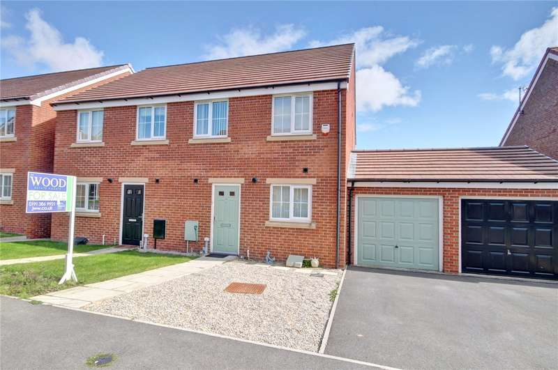 3 Bedrooms Semi Detached House for sale in Church Square, Brandon, Co Durham, DH7