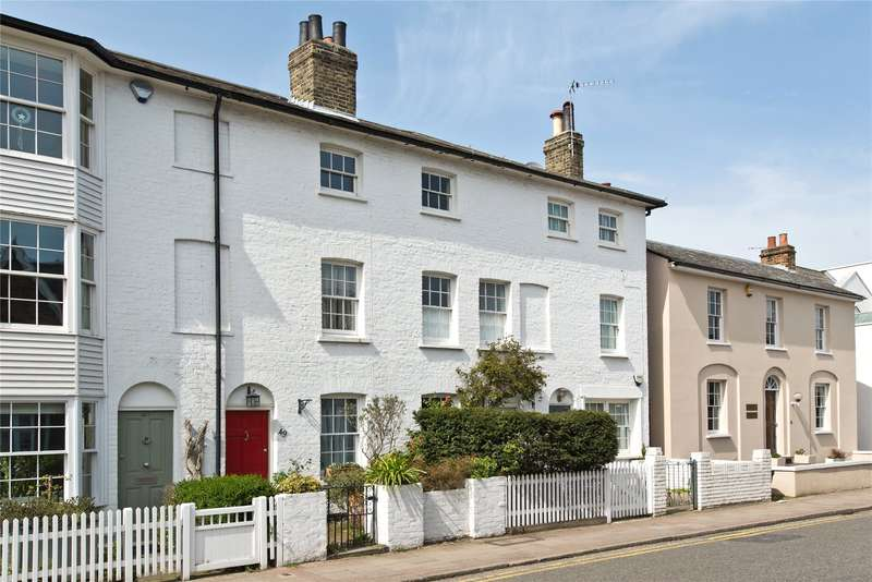 3 Bedrooms Terraced House for sale in Church Road, Wimbledon Village, London, SW19