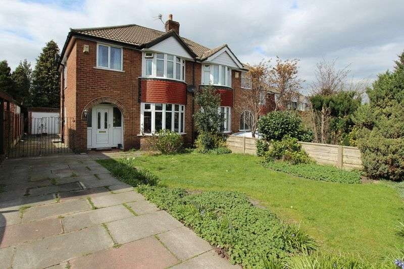 3 Bedrooms Semi Detached House for sale in Parr Lane, Unsworth, Bury