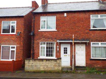 2 Bedrooms End Of Terrace House for sale in Oxford Street, Sutton-In-Ashfield, Nottinghamshire