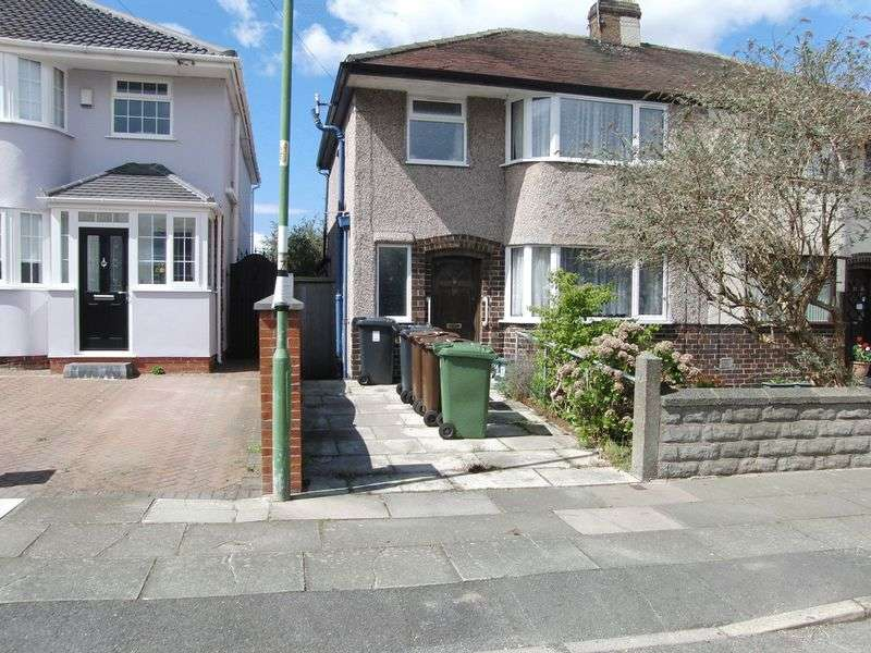 3 Bedrooms Semi Detached House for sale in Winchester Avenue, Liverpool