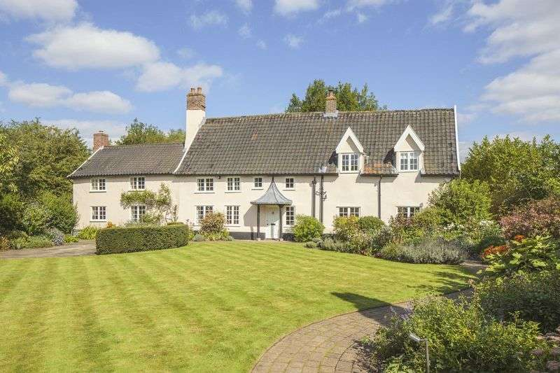 4 Bedrooms Detached House for sale in Alburgh, Near Harleston