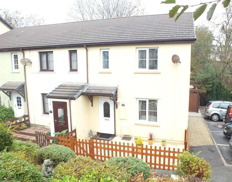 3 Bedrooms Semi Detached House for sale in School Gardens, Pennar, Pembroke Dock