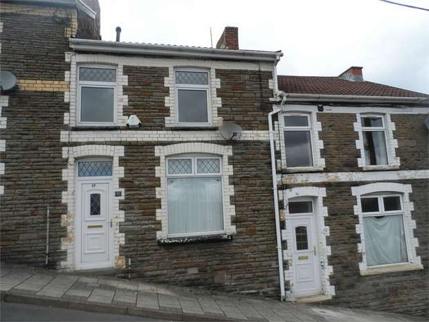 2 Bedrooms Terraced House for sale in Hill Street, BARGOED, Caerphilly