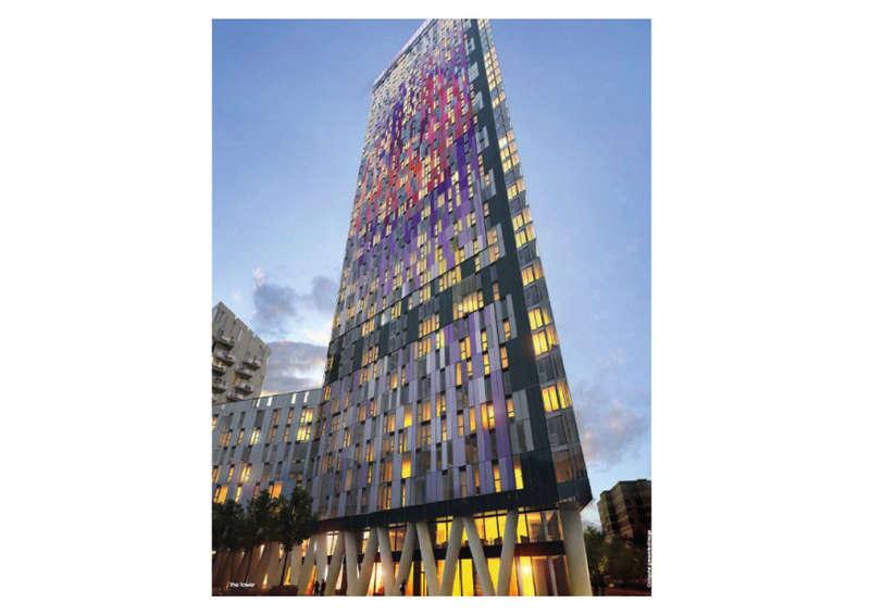 1 Bedroom Flat for sale in Saffron Tower, Saffron Square, Croydon